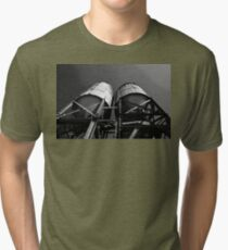 A Great Place for a Horror Movie Tri-blend T-Shirt