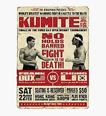 Kumite Fotodruck