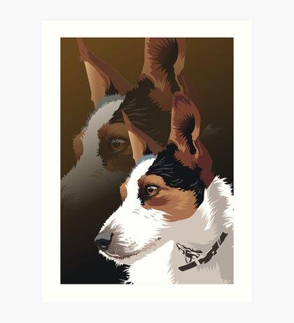 Lucy Art Print