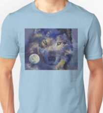 Grey Wolf Moon T-Shirt