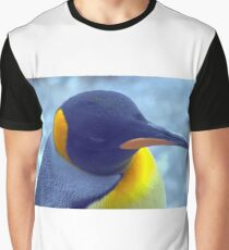 Colorful Penguin Graphic T-Shirt