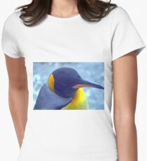 Colorful Penguin Women's Fitted T-Shirt