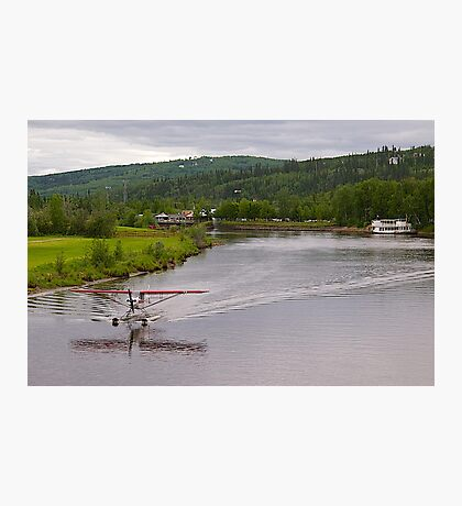 Piper Super Cub Floatplane, Fairbanks, Alaska. 2012. Photographic Print