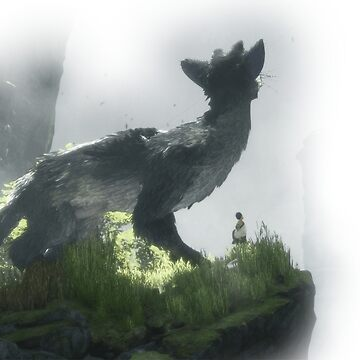 HQ The Last Guardian Corner (vector) by tellek