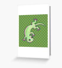 Gecko Greeting Card