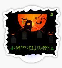 Holloween design Sticker