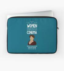 Women Invented... Cinema - Alice Guy-Blaché Laptop Sleeve