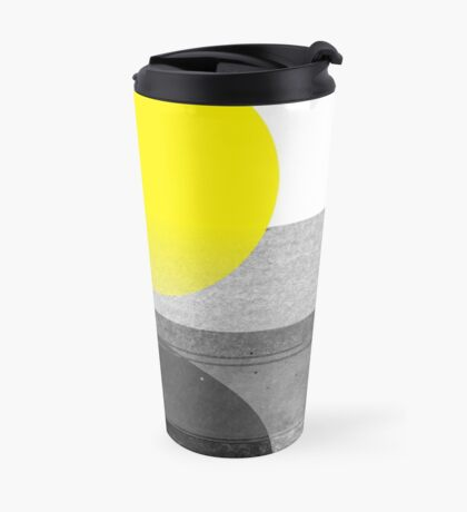 Yellow #abstract  Mug de Voyage