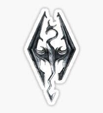 Logo, Skyrim  Sticker