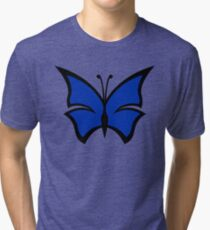 The Blue Morpho Tri-blend T-Shirt