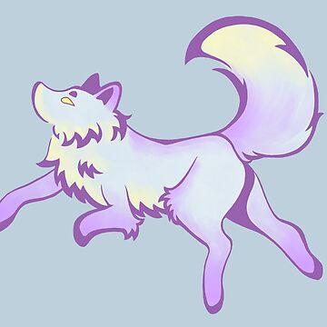 Inky Fox 2 - Color by WWFoxStudio