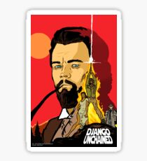 Django/star wars Sticker