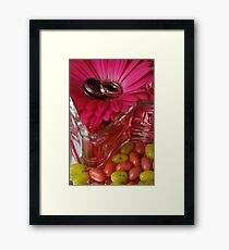 Jelly Beans and Rings Framed Print