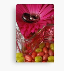 Jelly Beans and Rings Canvas Print