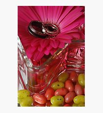 Jelly Beans and Rings Photographic Print