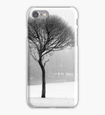 17.12.2016: Leafless Tree in Winter Fog II iPhone Case/Skin