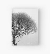 17.12.2016: Leafless Tree in Winter Fog III Hardcover Journal