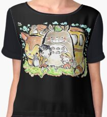 Totoro Chiffon Top
