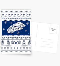 Nerd Pixel Christmas III Postcards