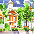 Courthouse Square by KipDeVore