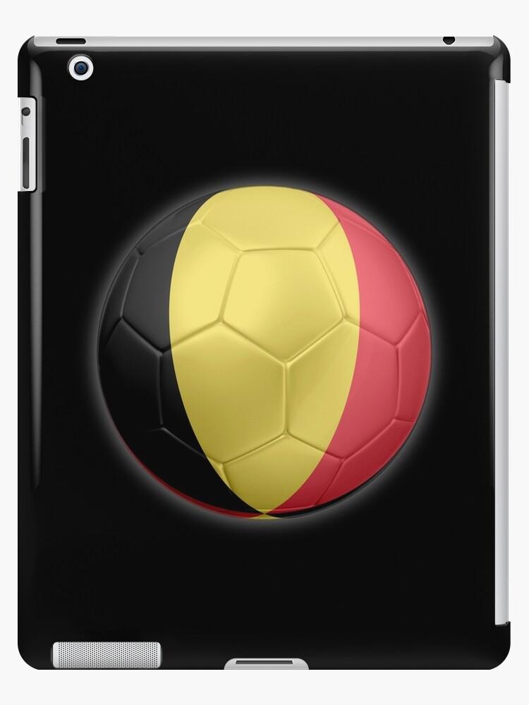 Belgium - Belgian Flag - Football or Soccer 2 by graphix