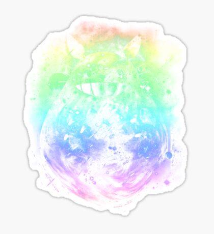 the big friend nebula - rainbow version Sticker