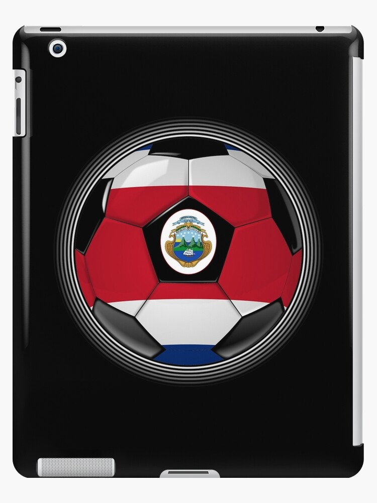 Costa Rica - Costa Rican Flag - Football or Soccer by graphix