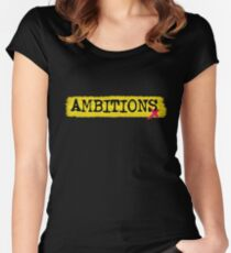 Ambitions - ONE OK ROCK Women's Fitted Scoop T-Shirt