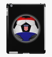 Croatia - Croatian Flag - Football or Soccer iPad Case/Skin