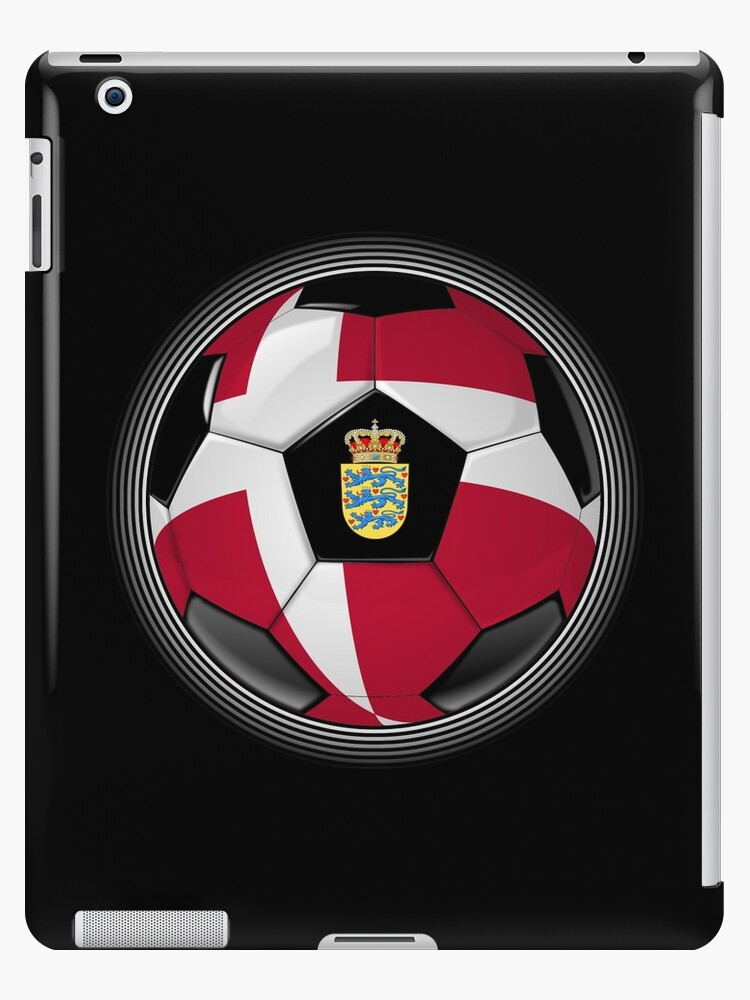 Denmark - Danish Flag - Football or Soccer by graphix