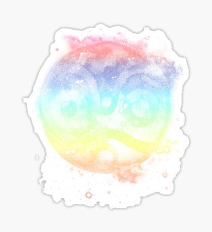 moononoke  princess - rainbow version Sticker