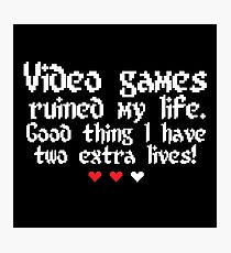 Videogame is my style! Photographic Print