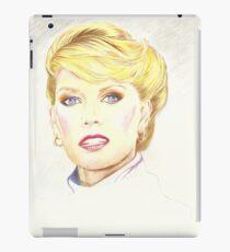 Blond with french twist iPad Case/Skin