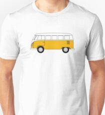 VW Type 2 Yellow Unisex T-Shirt
