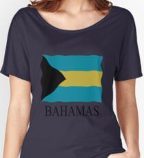Bahamas flag Women's Relaxed Fit T-Shirt