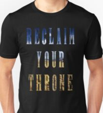 Reclaim Your Throne - Day/black Unisex T-Shirt