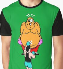 Punch Out King Hippo Graphic T-Shirt
