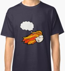cartoon flaming red hair Classic T-Shirt