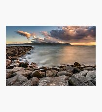 West Shore Sunset Photographic Print