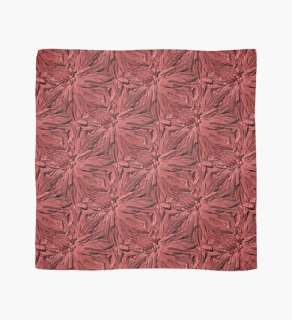 Dahlia Flower Petals Pattern In Dusty Rose Scarf