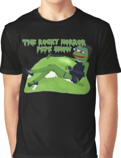 The Rocky Horror Pepe Show Graphic T-Shirt