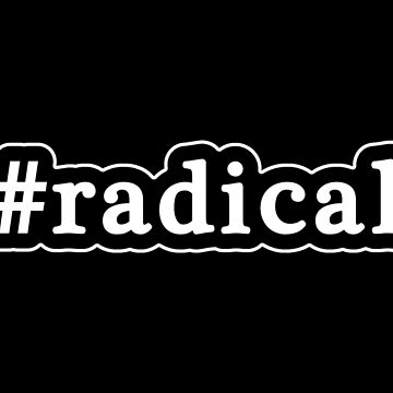 Radical - Hashtag - Black & White de graphix