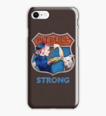 PitBull Strong iPhone Case/Skin