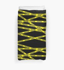 Caution Tape Duvet Cover