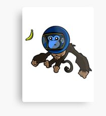 Monkey In Space Metal Print