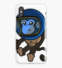 Monkey In Space iPhone Case