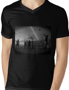 The Great Game of Basketball Mens V-Neck T-Shirt