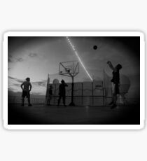 Great Game of Basketball Sticker