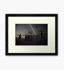 The Great Game of Basketball Framed Print