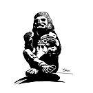 Aztec God Xochipili by cybermario